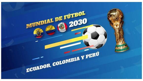 Proponen a Perú organizar el Mundial 2030