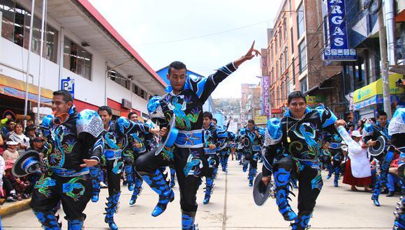 Danzas fueron suspendidas hasta el año 2022.