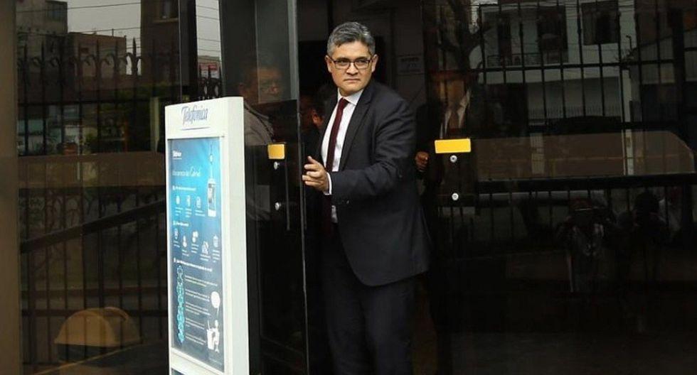 Fiscal José Domingo Pérez realiza diligencia en local de Telefónica