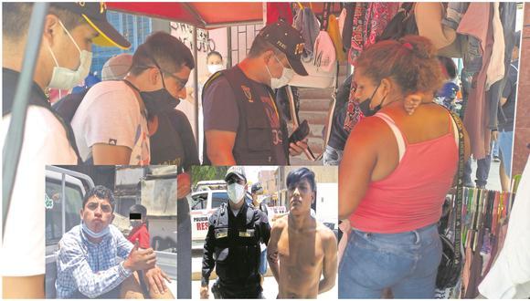 """Otros dos presuntos delincuentes que """"operan"""" junto a ella también fueron capturados por la Policía en el Modelo."""