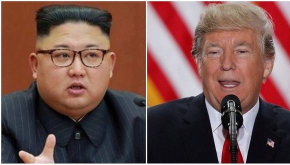 """Trump le dice a Kim Jong-un que su botón nuclear es """"más grande y poderoso"""""""