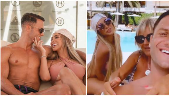 Paula Manzanal y Fabio Agostini oficializan su relación con románticas fotos. (Fotos: Instagram)
