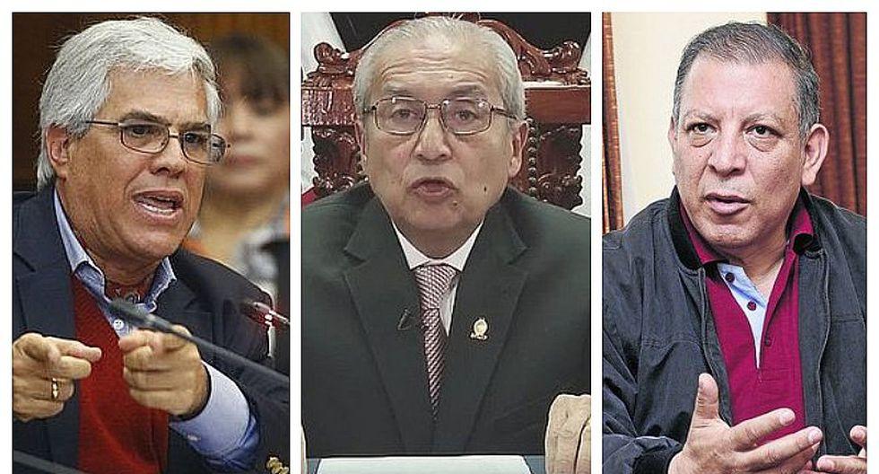 Congresistas de diversas bancadas piden renuncia de Pedro Chávarry