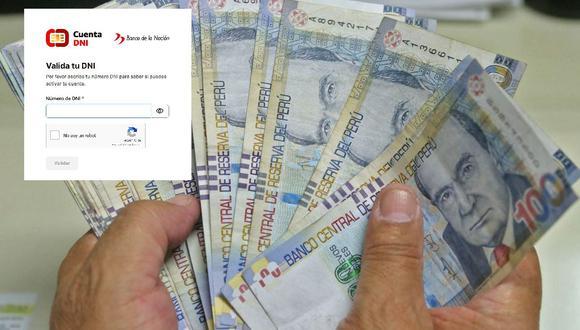 Los beneficiarios del Bono Yanapay podrán activar su cuenta desde el próximo lunes 25 de octubre y estos son todos los detalles a tomar en cuenta. (Foto: GEC)