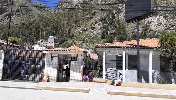 Hospital Regional de Huancavelica.