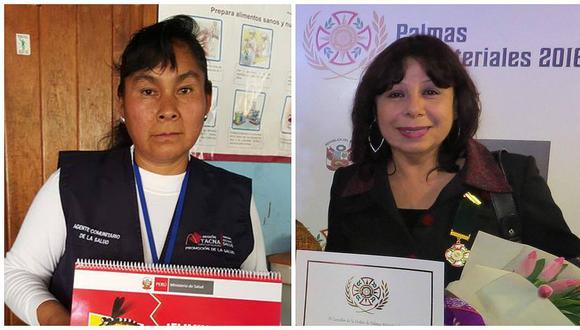 Dos tacneñas postulan a la XIV Condecoración Orden al Mérito de la Mujer 2017
