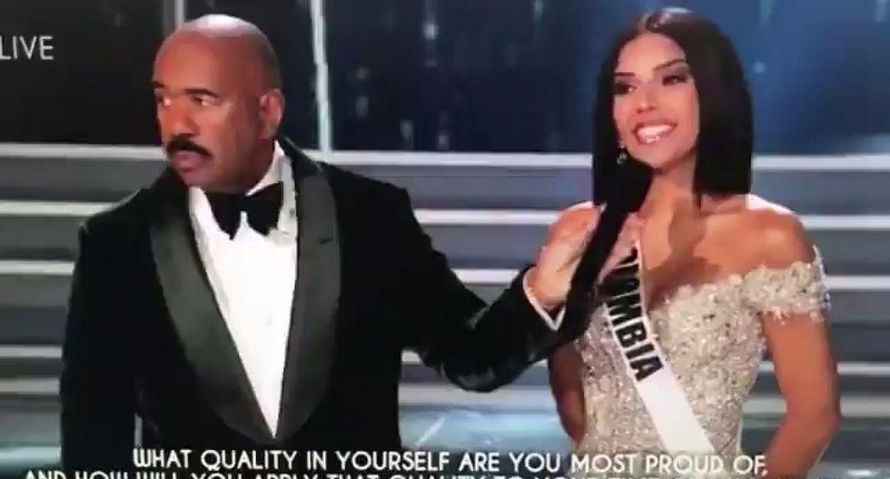 Miss Universo: Error de intérprete con respuesta de miss Colombia generó indignación (VIDEO)