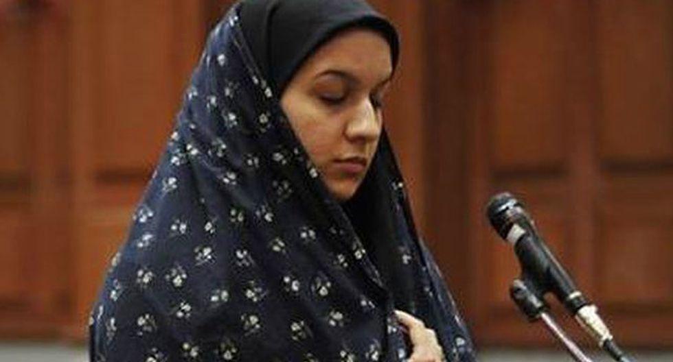 Irán aplazó ejecución de mujer condenada por asesinar a violador
