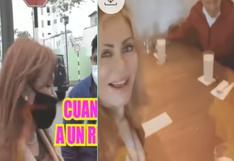 Magaly Medina y Gisela Valcárcel coincidieron en el mismo restaurante pero no cruzaron miradas ni se saludaron (VIDEO)