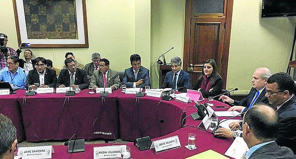 Presidencia del Consejo de Ministros evalúa ayuda a 34 distritos de Arequipa