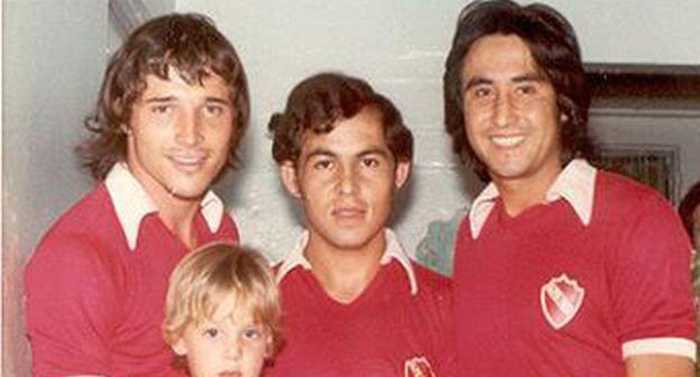 Ricardo Bochini y Percy Rojas fueron campeones de la Copa Libertadores 1975. (Foto: @BochiniOficial)