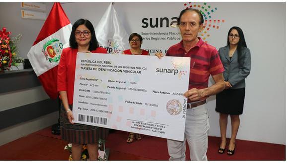 Sunarp implementa Registro de Propiedad Vehicular en Chepén