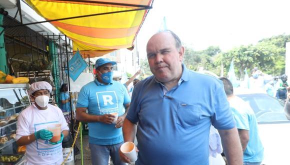 Rafael López Aliaga, candidato a la presidencia por el partido Renovación Popular. | Foto: GEC