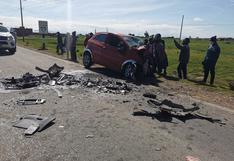 Identifican a 6 fallecidos tras accidente en vía Juliaca-Huancané