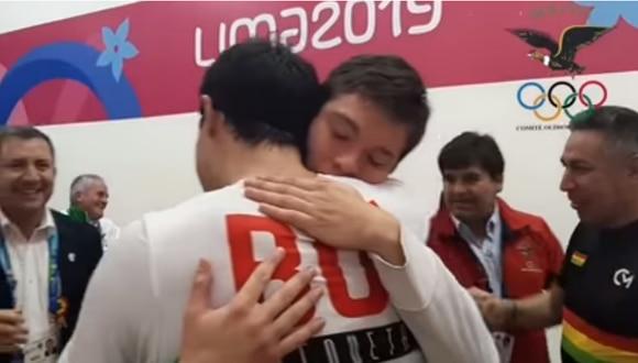 Lima 2019: Deportistas bolivianos rompieron en llanto tras obtener su primer oro en los Juegos Panamericanos