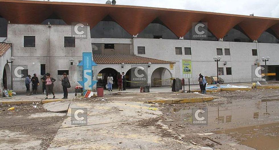 Terminal terrestre de Arequipa cerro sus puertas por más de 12  horas (FOTOS)