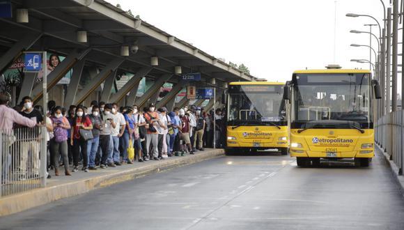 La línea 1 del Metro trasladará a 450 usuarios aproximadamente en cada tren, lo que supone ocupar el 38% de su aforo actual, según la propuesta de la  Autoridad para el Transporte Urbano de Lima y Callao.