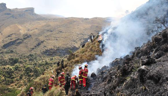Evaluarán daños causados por incendio en Santuario Nacional de Ampay