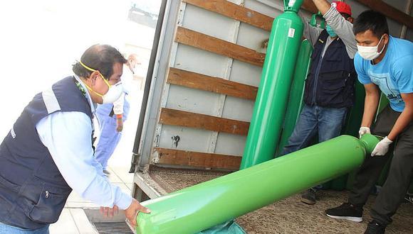 Hospital Regional gestiona 50 balones más de oxígeno para pacientes con COVID-19