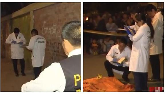 Acribillan a obrero de construcción civil en Los Olivos (VIDEO)
