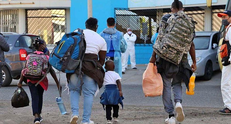 Empieza el retorno de 1,505 peruanos que estaban varados en Arica