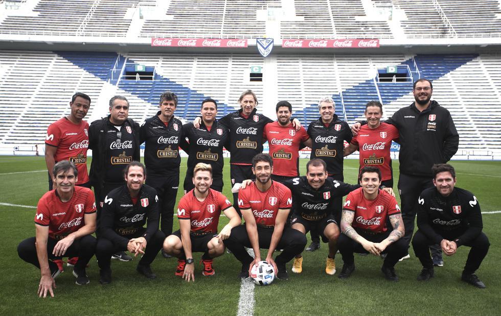 Así fue el entrenamiento de Perú en el estadio de Vélez Sarsfield. (Foto: FPF)