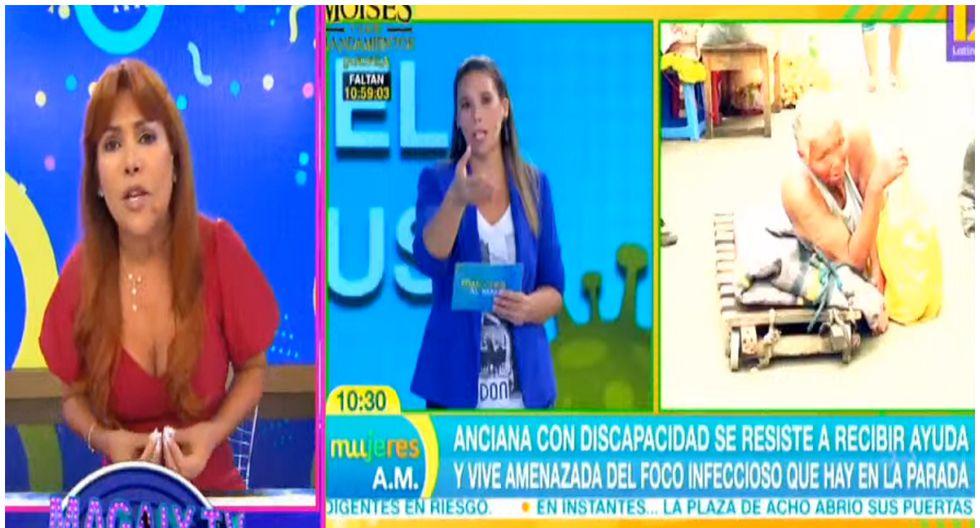 Magaly Medina critica campaña realizada por programa 'Mujeres al mando'. (Foto: ATV)