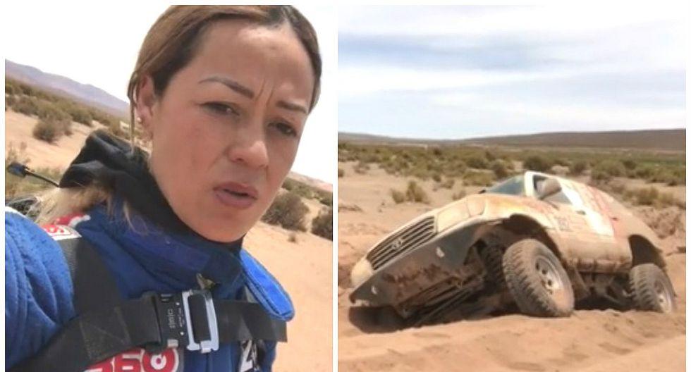 Fernanda Kanno comparte difícil momento que vivió en el Dakar 2018 (VIDEO)