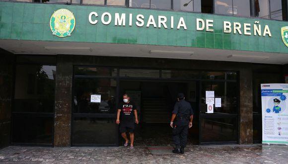 Hijo del alcalde permanece detenido en la Depincri de Breña. (GEC)