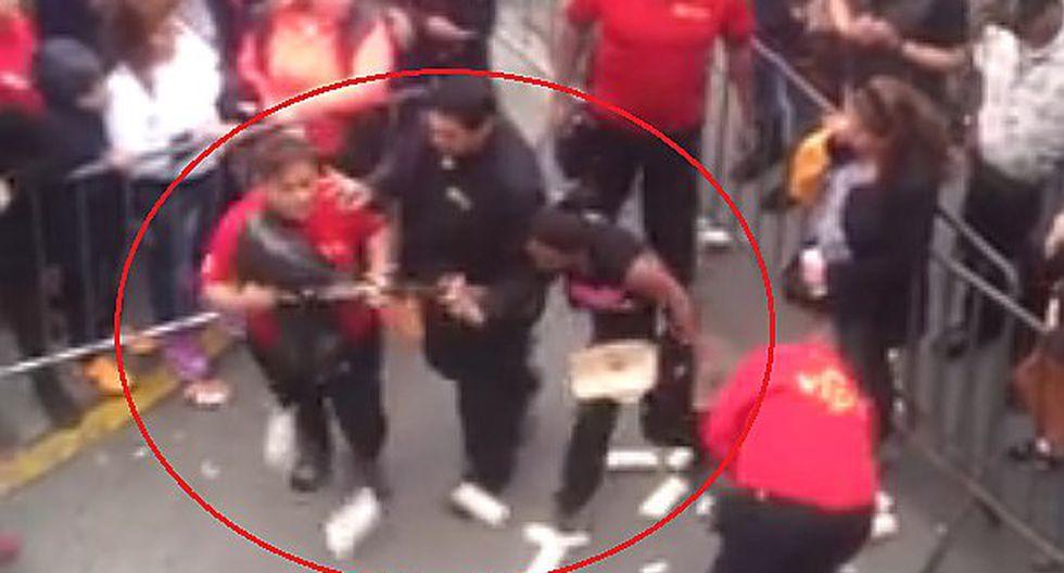 Circo de la Chola Chabuca: agentes de seguridad humillan así a humilde vendedora (VIDEO)
