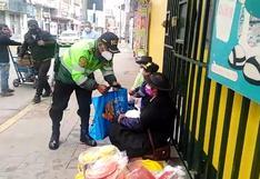Policía sorprende a madres que venden caramelos a horas de celebrar su día en Huancayo (VIDEO)