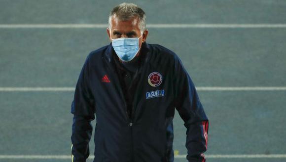 Carlos Queiroz será cesado de la selección colombiana, señalan desde Portugal. (Foto: AFP)