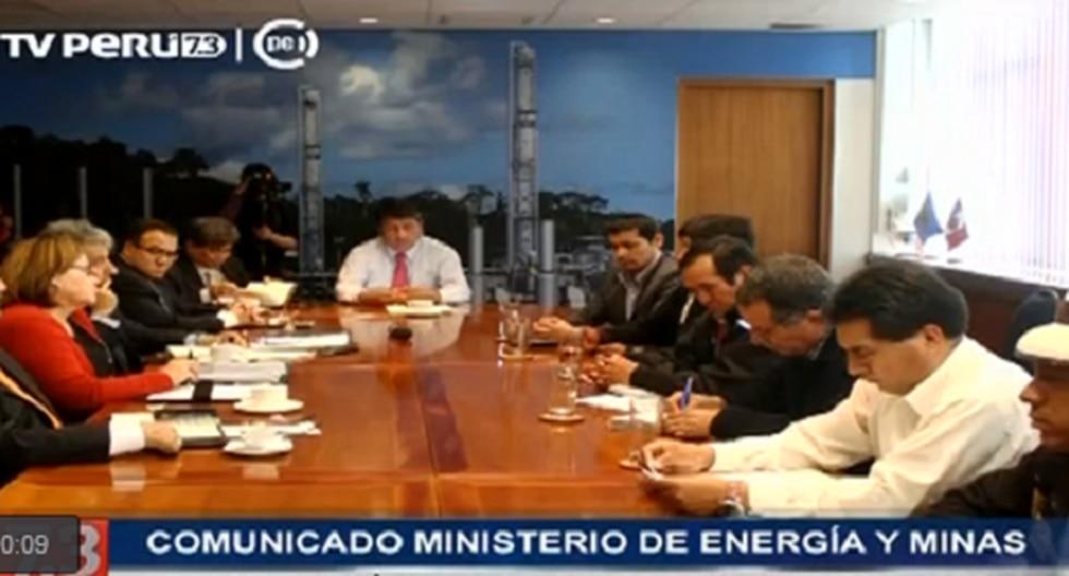 Las Bambas: Ministros se reúnen con alcaldes de Cotabambas