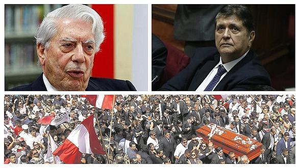 Mario Vargas Llosa recordó críticos momentos del primer gobierno aprista tras muerte de Alan García