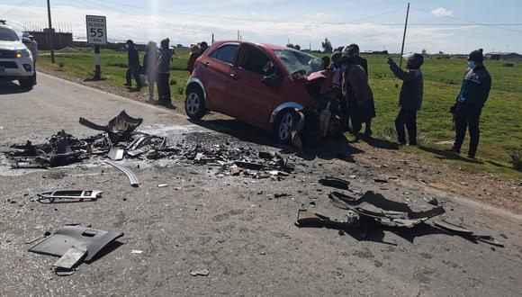 El accidente ocurrió la madrugada de este martes 16 de febrero.