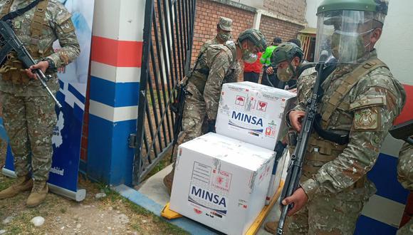 Llegan vacunas a la región Junín