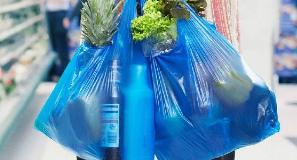Desde hoy las bolsas de plástico tendrán un costo de S/ 0.10