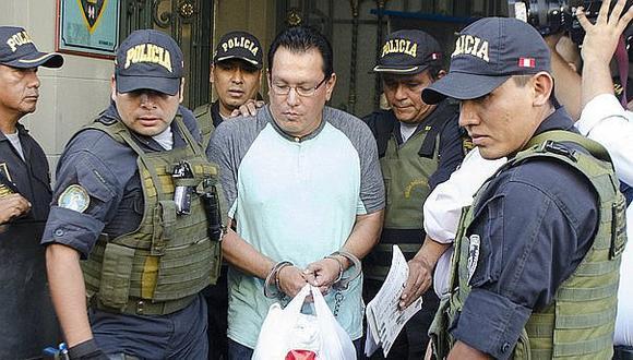 Dictan 18 meses de prisión preventiva contra prófugo exgobernador regional Félix Moreno