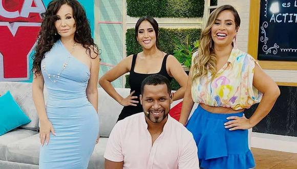 Janet Barboza, Melissa Paredes y Ethel Pozo se reunieron con Gisela Valcárcel para hablar detalles de la nueva temporada del programa. (Foto: Instagram @americahoytv)