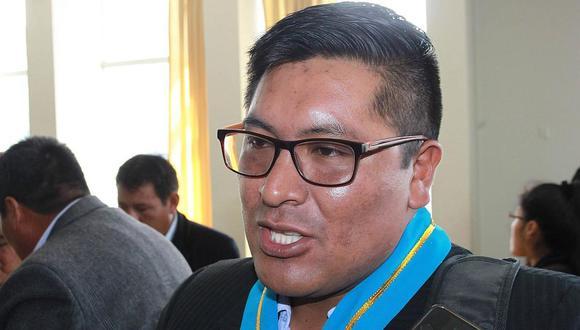 El consejero señaló que están preparando una nueva denuncia penal en contra de Luque Chayña y sus funcionarios. (Foto: Difusión)