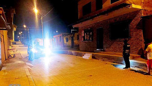 Infernal balacera entre dos bandas deja a dos hermanos heridos en Paita