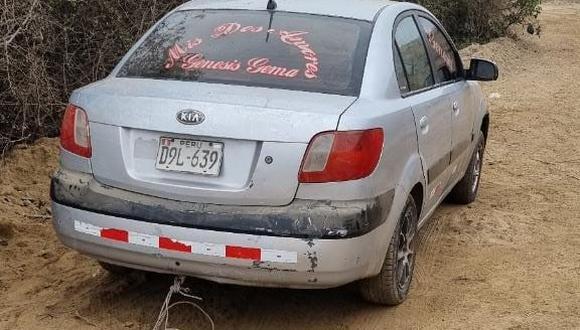 Sicario asesina de un balazo a taxista y abandonan vehículo en Chincha.