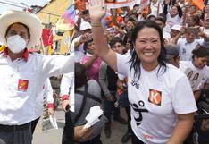 Castillo y Fujimori: resultado de la división del país