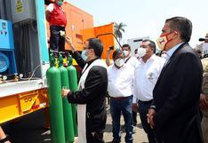 Repartirán oxígeno gratis en territorios y distritos de Trujillo