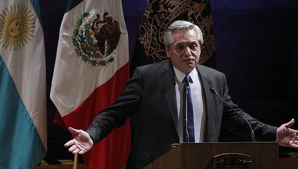 """Alberto Fernández: """"Repudiamos la violencia que impidió a Morales concluir su mandato"""""""