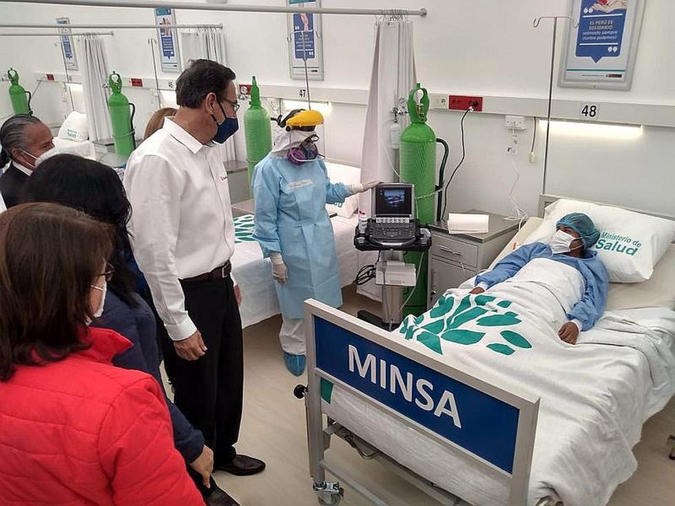 Inauguran centro de rehabilitación para pacientes COVID-19 en Viñani