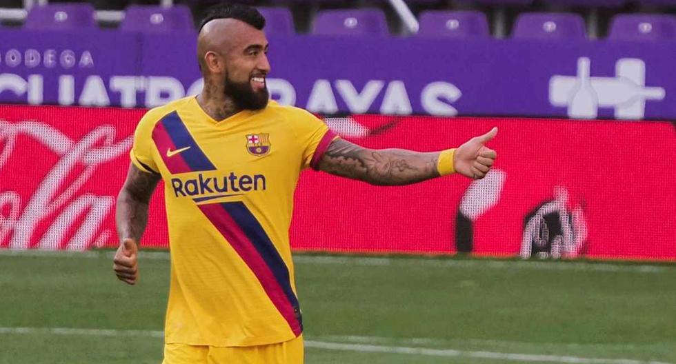 Arturo Vidal dijo adiós a Barcelona luego de dos años