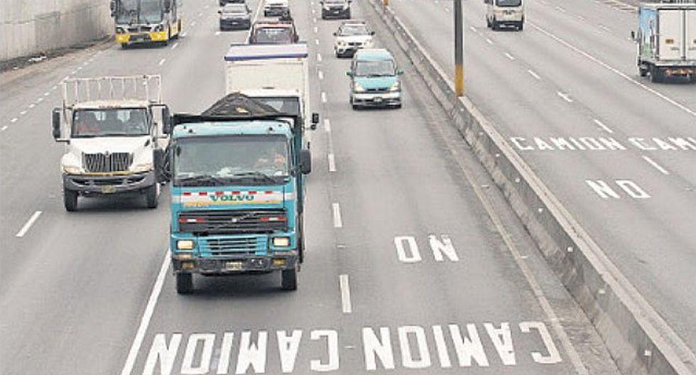 'Pico y placa': Multas para los camiones inicia el 4 de noviembre