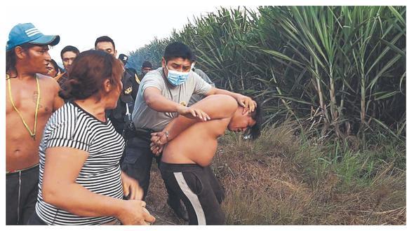 Hampón amenaza con un arma de fuego a una mujer y le roba 3,000 soles. Otro asaltante fue arrestado por robar un celular.