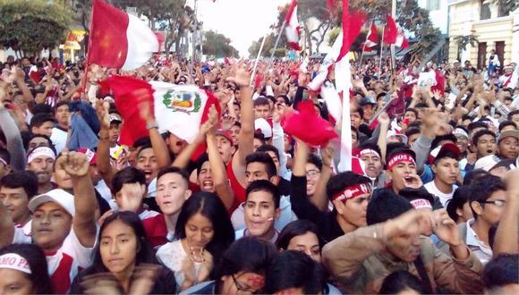 Perú vs Colombia: Una multitud se congrega en Chiclayo para alentar a la selección (VIDEO)